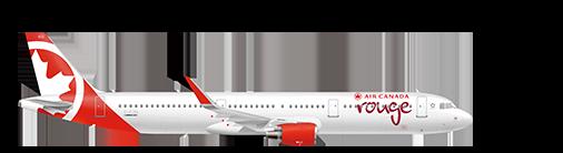 Airbus A321-200 plane