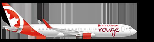 Boeing 767-300ER plane